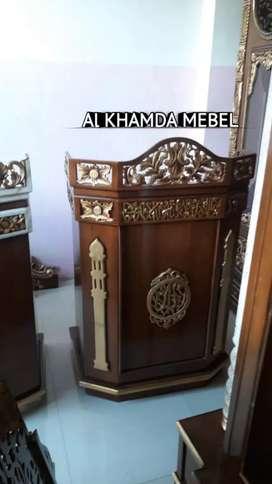 Ready Mimbar Musholla Kerajinan Jepara @1031