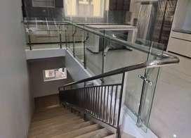 Reling stainless kaca dan balkon kaca $2711