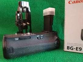 baterai grip BG e9 canon 60d
