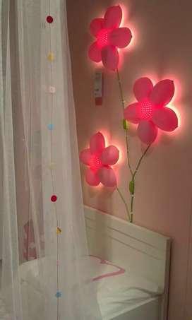 IKEA Lampu dinding Bunga