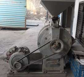 Flour mill ready to use.