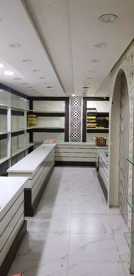 Fully furnished showroom.