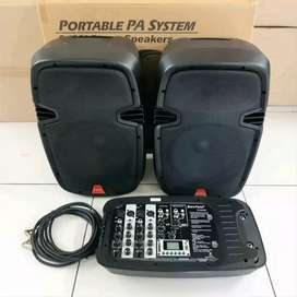 Sound / Speaker Aktif + Mixer / amplifier merk BARETONE