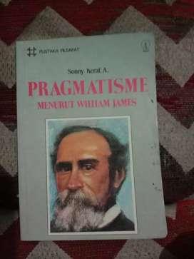 DIJUAL BUKU TERBITAN 1987  JUDUL PRAGMATISME MENURUT WILLIAM JAMES