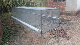 High tech chikken cage
