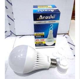 AB Lampu led emergency ARASHI 5W(50rb)7W(55rb)9W(58rb)11W(60rb)15W(65)