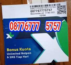 Nomor cantik kartu perdana XL 5757