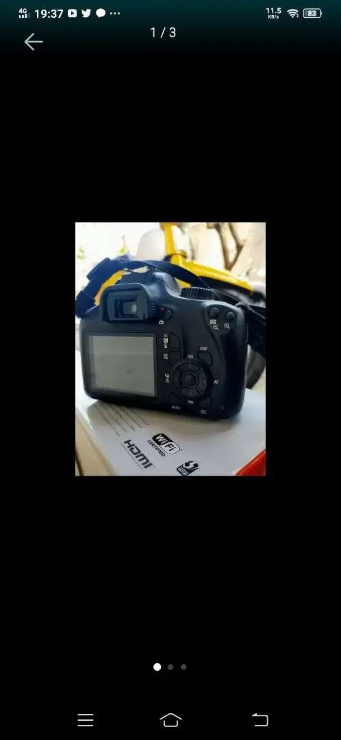 Dijual kamera canon eos 3000D