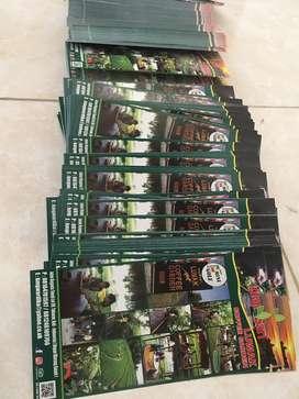 Brosur flyer dan katalog