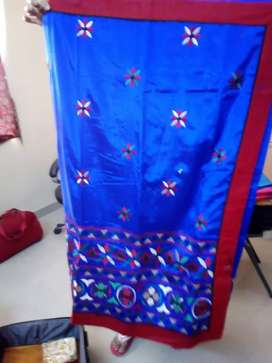 Saree... With Embroidery design