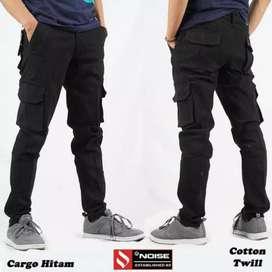 Celana Cargo PDL Panjang Stretch Cotton Aneka Varian Warna Pria