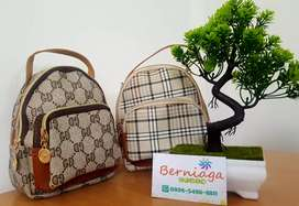 Tas selempang / back pack ransel mini