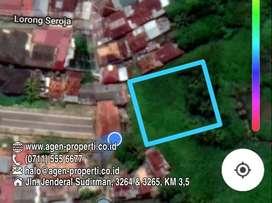 Dijual Tanah Siap Bangun Posisi Tepi Jln Seroja Kertapati Palembang