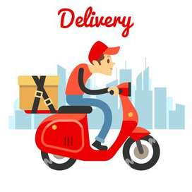 ugrent required for delivery boy