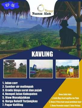 Kavling Syariah View Pegunungan di Nuansa Alam Transyogi Bogor