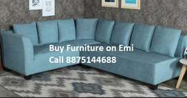 New Sofa set 8599,L shape sofa 13990/- 10 year warranty Emi Available