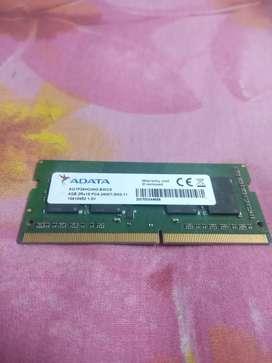 Adata Premier 4gb ddr4 2400mhz laptop ram