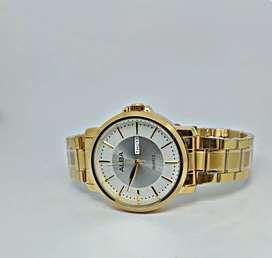 Jam tangan Alba gold color
