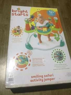 Bright Starts - Smiling Safari Activity Jumper