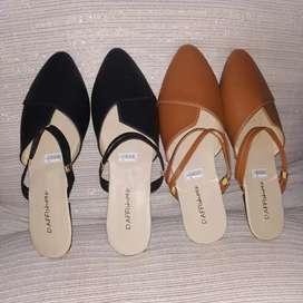 Flat shoes trendy murah