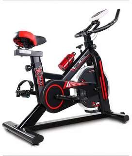 Promo alat fitnes sepeda statis spinning bike