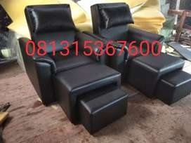 kursi refleksi atau kursi pijat 002 hitam full hitam