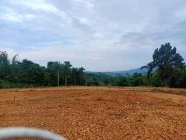 Dijual tanah pinggir jalan jalur wisata bonus gazebo cantik