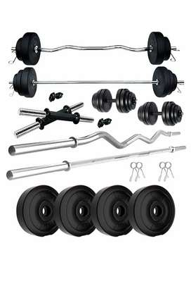 Home Gym Kit Combo PVC weights