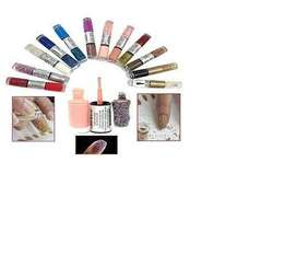 2 In 1 Nail Paints With Beads -