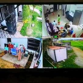 Paket kamera Cctv lengkap dengan pemasangan area Cidolog Sukabumi