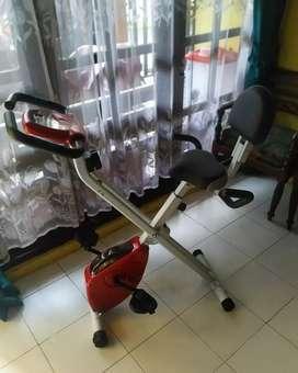 Sepeda statis magnetik bike X bike lipat fitness gym