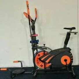 Sepeda statis Orbitrack Plat 6 fungsi alat fitnes - olahraga murah 546