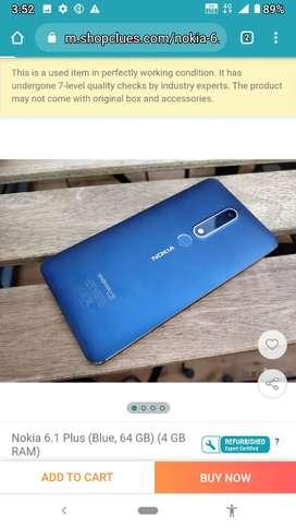 Nokia 6.1super super good condition 4gb64