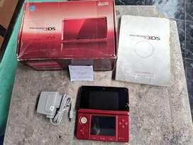 Nintendo 3DS not XL Red 16Gb Fullset 0