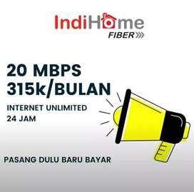 Pasang baru internet IndiHome sale