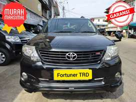 TOYOTA FORTUNER TRD MATIC 2014