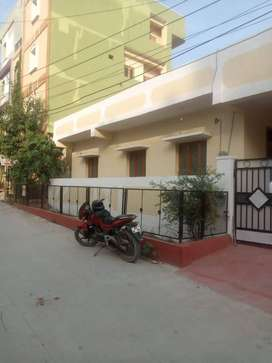 3bhk east newly painted semi furnished independent house for rent