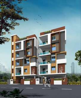 3bhk flat for sale in madhavadhara @76 lk