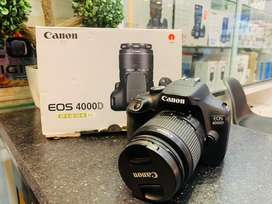 Canon 4000D 18-55 iii slightly used available in stock