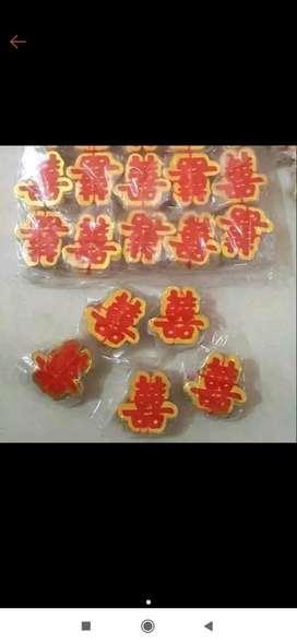 Sticker wedding shuang hi kecil