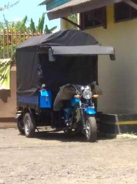 Spidah motor roda tiga merek kaisar