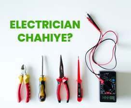 Expert Electrician available in Lahore