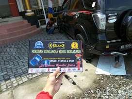 Garansi 2 THN, mobil stabil tdk GASRUK & LIMBUNG ,Pakai BALANCE DAMPER
