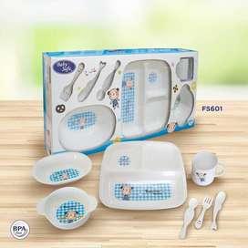 Baby Safe Multifunction Children Tableware Feeding Set Alat Makan Bayi