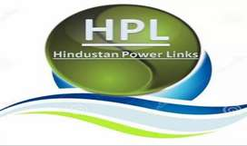 Hindustan powelinks, required office staff's and distribution staff's,