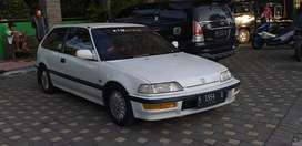 honda civic 1.5 manual thun 1991, plat S mojokerto