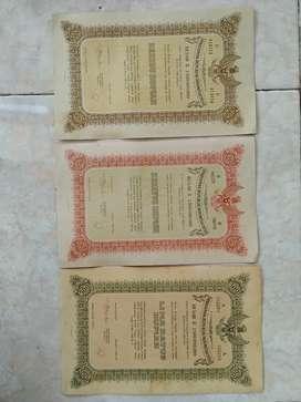 Surat berharga tahun 1950