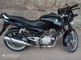 A Bajaj Pulsar 150cc with excellent condition is on sale