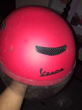 Helmet vespa. New no using