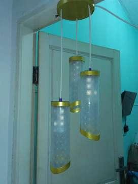 Lampu hias gantung (cabang 3)